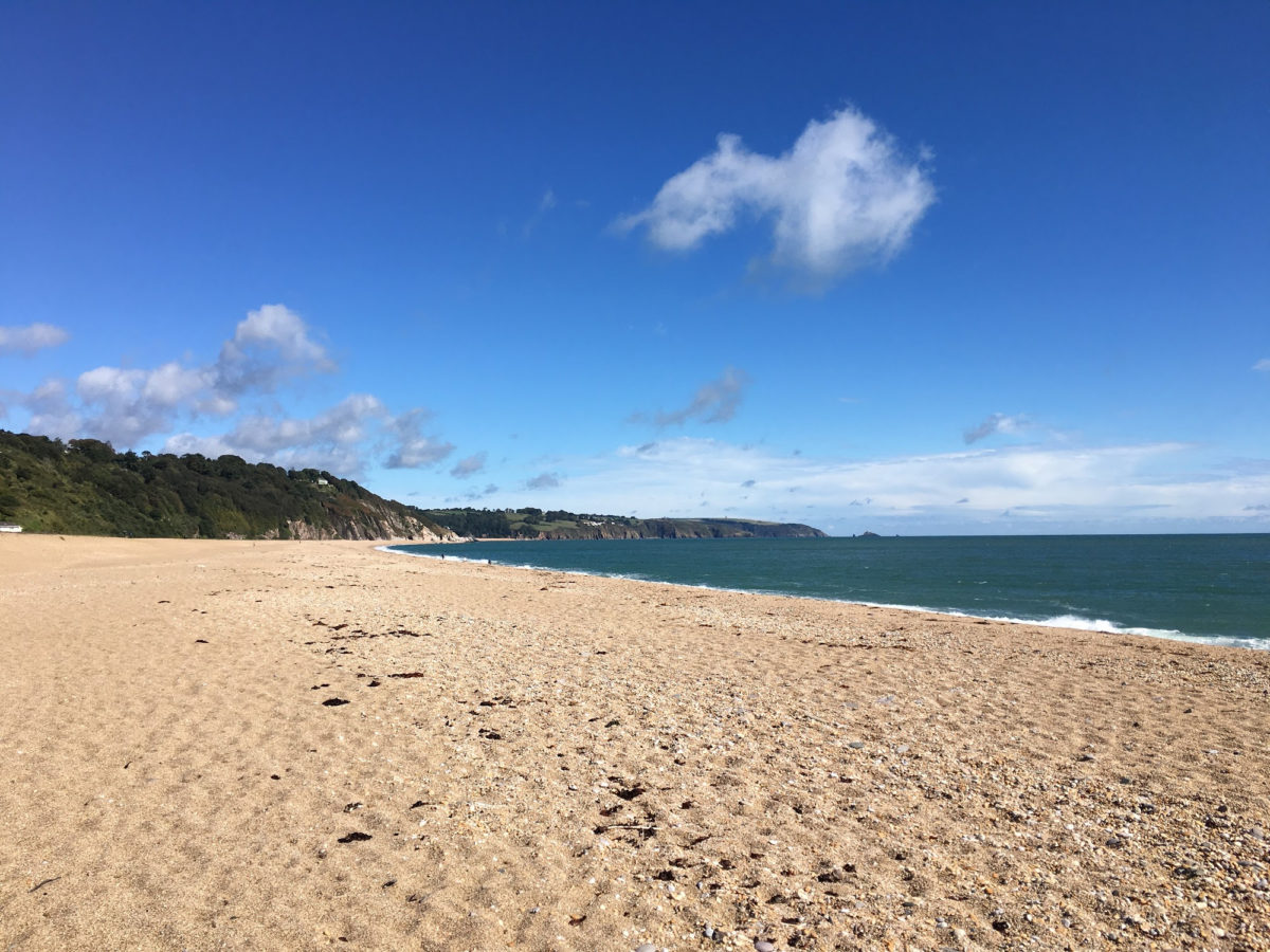Strete Gate Beach in the South Hams, South Devon