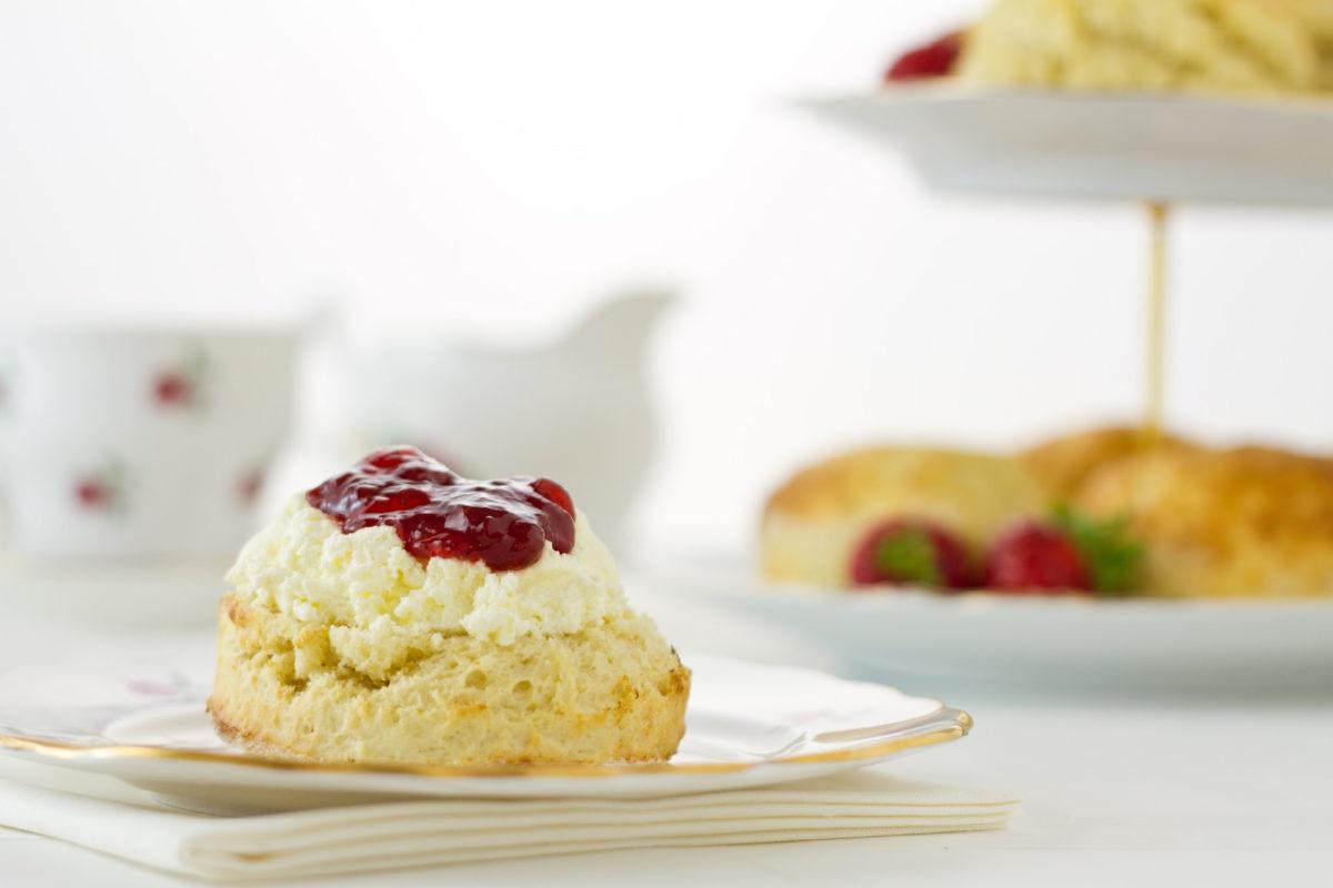 Devon scone cream first