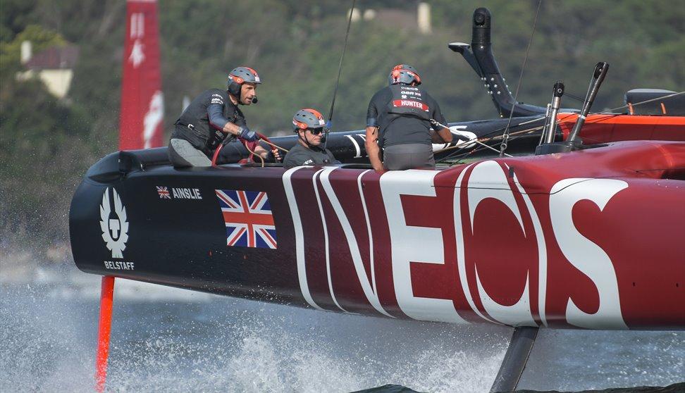 Ben Ainslie, skipper of Team GB