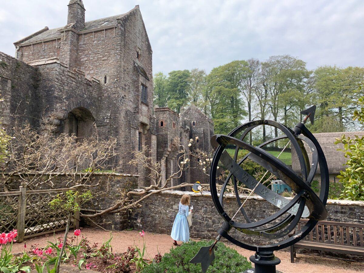 Compton Castle near Paignton in South Devon